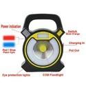 Rechargable LED Flood Light COB 10W USB Charging