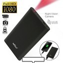 WIFI 1080P SPY Hidden Mobile Power Bank Night Vision