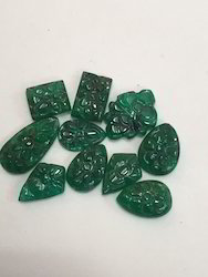 Emerald Carvings