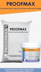 Acrylic Cementitious Waterproofing Coating : Proofmax