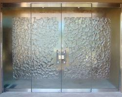 Natural DK Door Glass