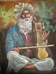Rajasthani Musician Paintings