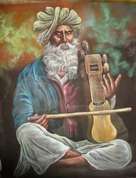 Rajasthani Musician Paintings