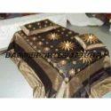 Silk embroidery zari work