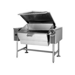Stainless Steel Tilting Braising Pan
