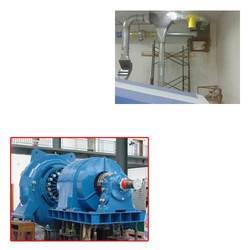 Heavy Particle Separator for Turbine
