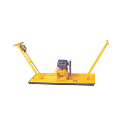 Cosmos Yellow Plate Vibrator, Power: 0.5 hp