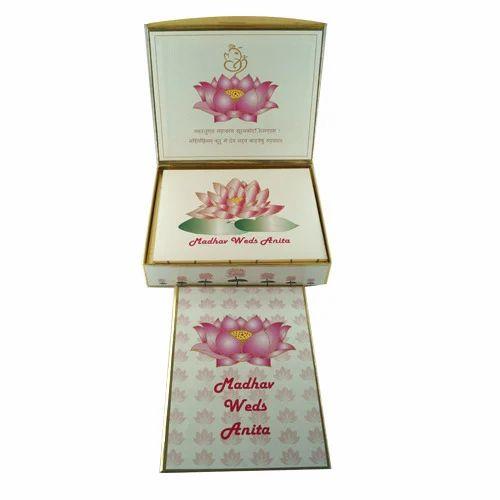 Marriage Wedding Card Box at Rs 225 piece Box Wedding Cards ID