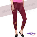 Ladies Cotton Lycra Leggings