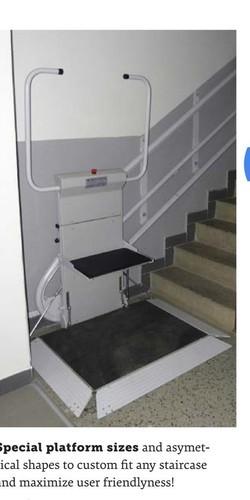 And Shivangi Staircase Elevator