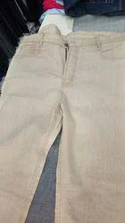 Cream Denim Jeans
