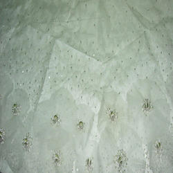 Embroidered Wedding Fabric