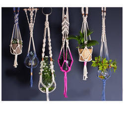 Cotton For Home Macrame Plant Hanger