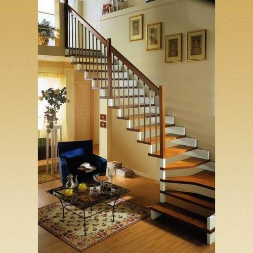Fancy Staircase With Railing