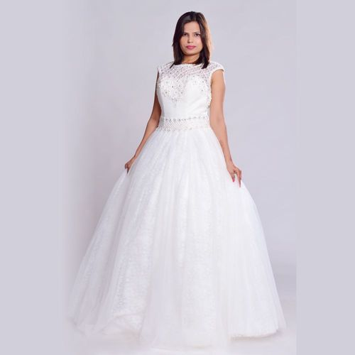 8b680f7e00 ... Fellows International Women Formal Light Gray Trouser and Logistics  Services from Delhi. White Party Wear Gown