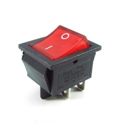 Rocker switch with light 16amp