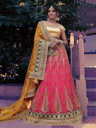 Classic Pink Designer Lehenga