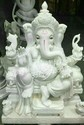 Ganesh Marble Statue