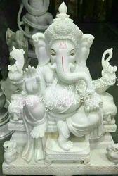 Ganesh Marble Idol