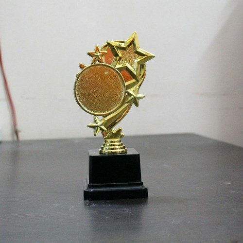 Shri Nirpan Gold Star Trophy Shape Multiple