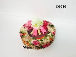 Round Floral Gift Box