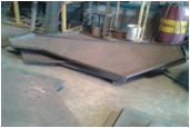 MS Plate Profile Bending Job Work