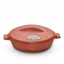 1.5 Liter Clay Kadai