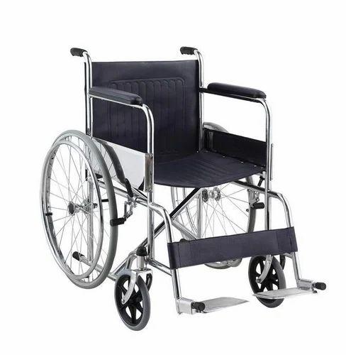 Folding Wheelchairs फोल्डिंग व्हीलचेयर Kuber Surgicals