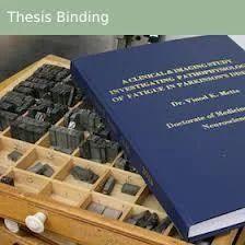 Thesis binding services toronto