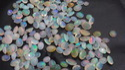 Ethiopian Opal Oval Cut Gemstone