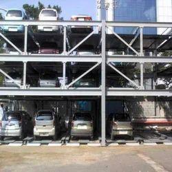 Puzzle Car Parking Lift System