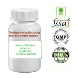 Green Coffee Beans Capsule For Weight Management
