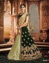 Green Colour Wedding Lehenga Choli M-4915