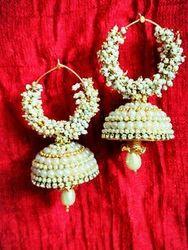 46688fa0127 Silk Thread Designer Pearl Earrings