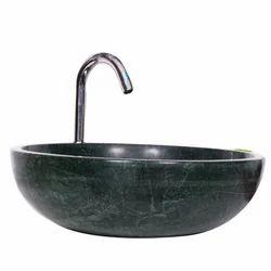 Green Marble Vessel Sink