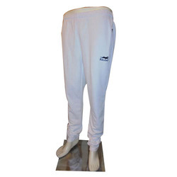 Polyester Casual Wear Mens White Track Pant