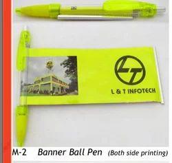 Banner Promotional Pen