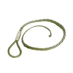 Cable Mesh Single End Socks