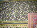 Maa Ambey Floral Print Vintage Kantha Quilt