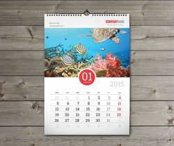 Multi Sheet Wall Calendar