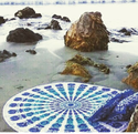 Ombre Hippie Tapestries Indian Mandala Beach Throw Tapestry