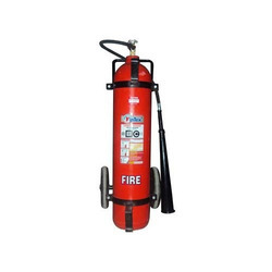 Co2 Trolley Mounted Fire Extinguisher, Capacity: 22.5 Kgs