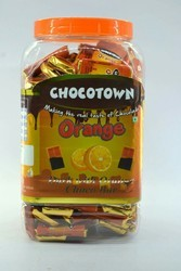 Bar Dark N Orange chocolate