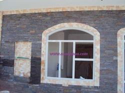Elevation Window Stone Cladding