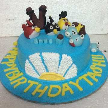 Excellent Angry Bird Birthday Cakes At Rs 650 Kilogram S Cake Id Funny Birthday Cards Online Hendilapandamsfinfo