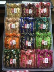 Round Colored Handmade Bangles