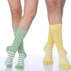 Ladies Cotton Spandex Socks