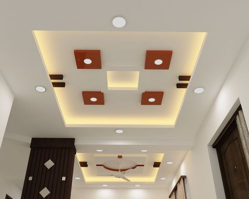 Bedroom Pop Down Ceiling Design