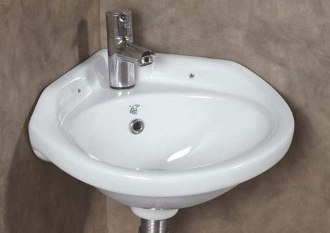 Eagle Premium Corner Wall Mounted Wash Basin