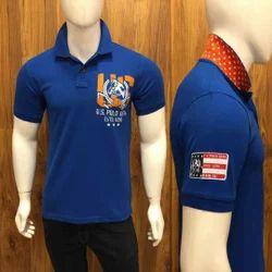 U.S Polo Cotton  Half Sleeve T Shirt